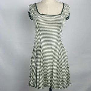 Urban Outfitter Cooperative Green & White Dress